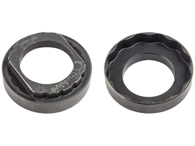 e*thirteen Outil multifonction pour anneau de verrouillage Spider de boîtier de pédalier et pédalier, black